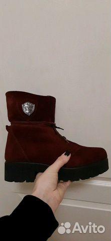 Зимние ботинки замша 89147720690 купить 3