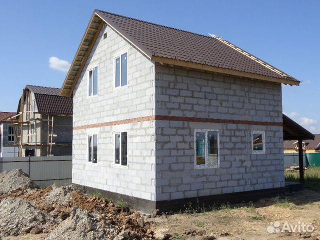 Строительство дома 6х6 из газаблоков