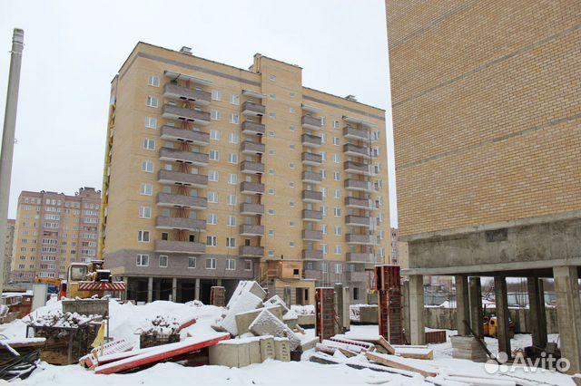 2-к квартира, 55.5 м², 6/10 эт.