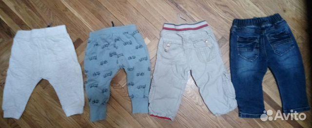 Брюки штаны джинсы р. 74 и 80 на 9 мес. - 1,5 года