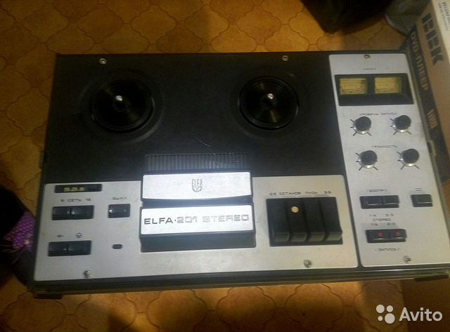 Катушечный магнитофон elfa 201 стерео 89203317791 купить 1
