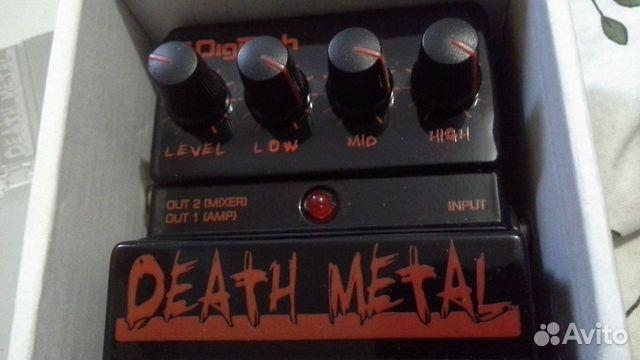 Digitech Death Metal Distortion 89087801597 купить 5