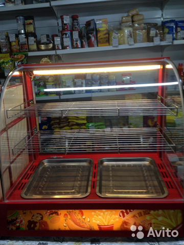 Heated display unit