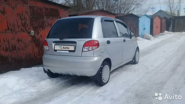 Daewoo Matiz, 2012 89115603931 купить 8