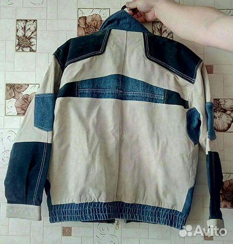 Куртка замшевая, Осенняя купить 2