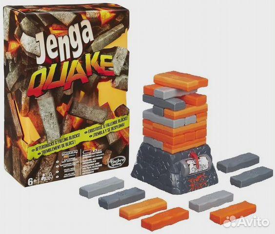 89061815336 Новая настольная игра Jenga Quake от Hasbro
