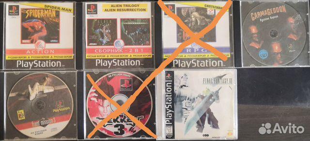 Игры PS1 пс1
