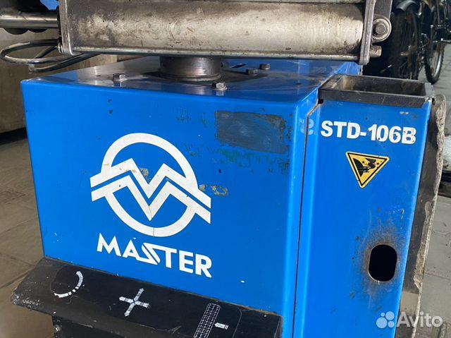 89380001718  Шиномонтажный станок Master STD-106B