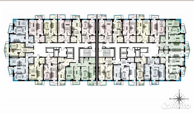 1-к квартира, 39.6 м², 16/26 эт. купить 10