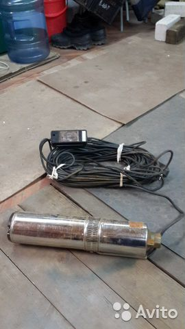 Глубинный насос электронасос Водолей бцпэ 0,5-32 У  89307274688 купить 1