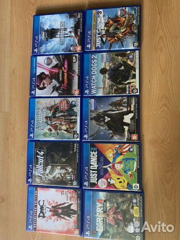 Игры на PS4  89625022730 купить 3