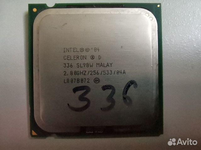 Процессор Intel celeron d + кулер  89042081474 купить 3