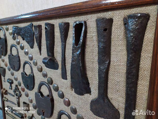 Панно из старинных предметов быта, конины  89033713097 купить 5
