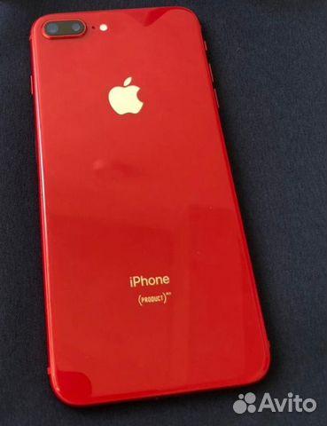 Телефон iPhone 8 plus красный  89106988337 купить 1