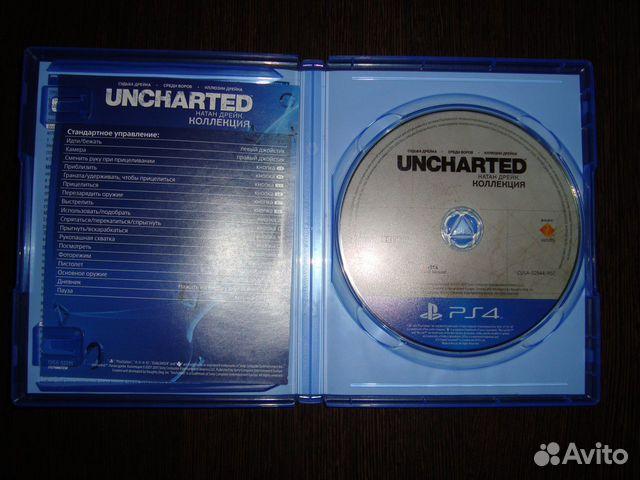 Игра для PS 4 Uncharted коллекция 3 в 1