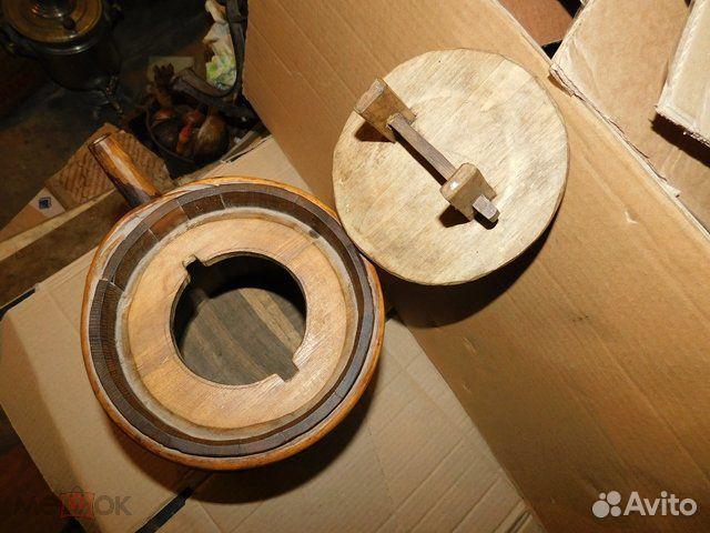 Старинный пивной-квасной дубовый бочонок 4-5 л  89065103360 купить 6