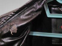 Куртка фирмы bugatti мужская зимняя черная