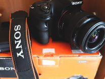 Sony Alpha SLT-A58 Kit 18-55 Black