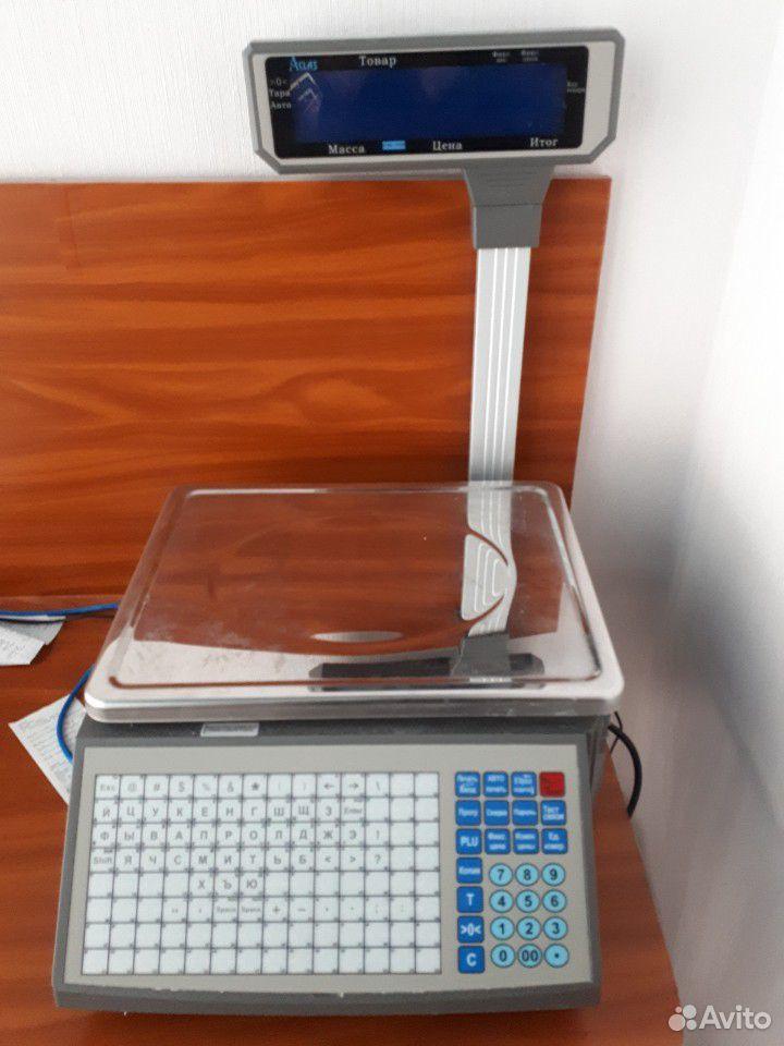 Весы чекопечатающие для маркировки товара