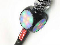 Микрофон ws 1816 свет, замена голоса, черный
