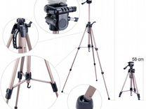 Штатив для фотоаппарата Racam AM-37 3D 154см 5кг