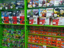 Приставки Sega Hamy Dendy, аксессуары и картриджи