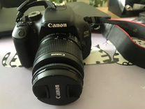 Фотоаппарат Canon 600 D — Фототехника в Геленджике