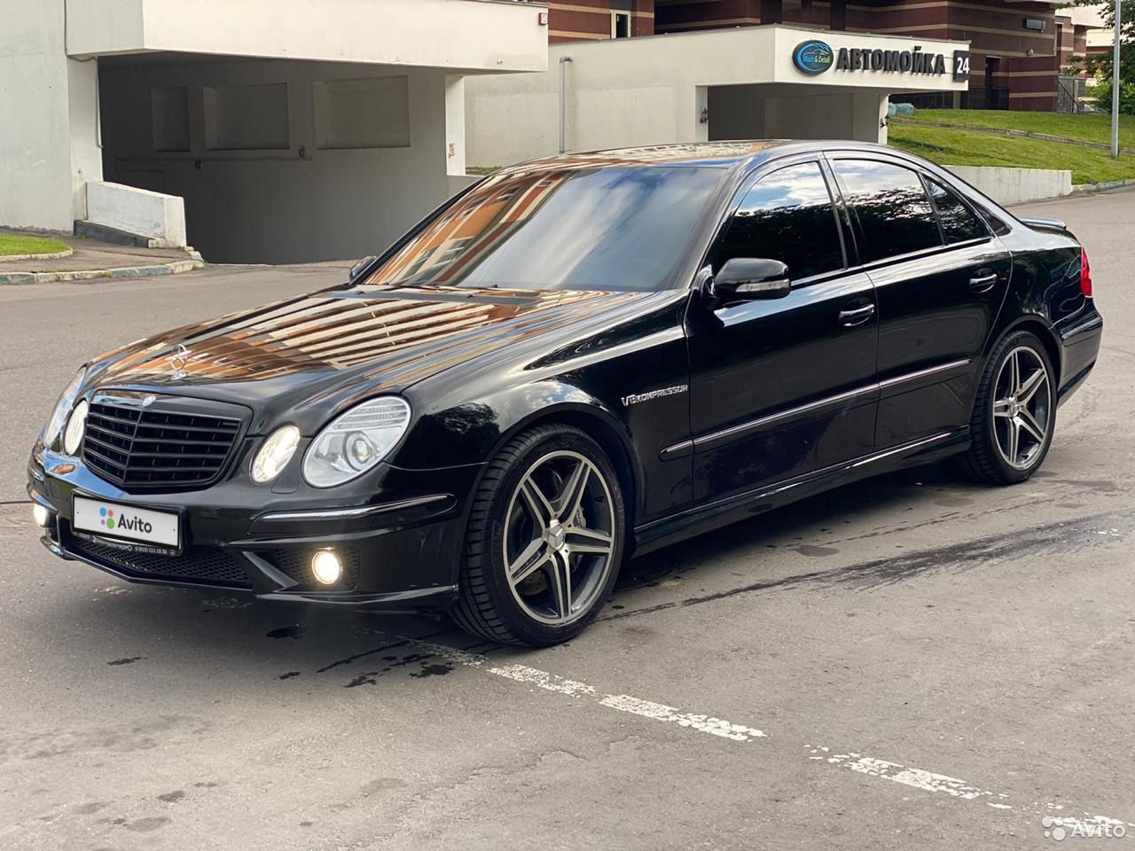 Mercedes-Benz E-klass AMG 2003  89635921167 köp 1