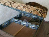 Кровать двуспальная (спальня) бу