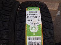 205/55 R16 Nokian Nordman RS зима новые 4 шт
