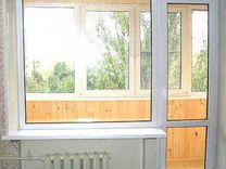 Балконный блок пластиковый, окно