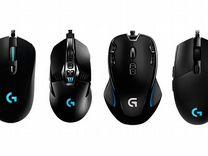 Игровые мышки и клавиатуры Logitech
