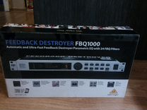 Feedback подавитель destroyer Behringer FBQ1000