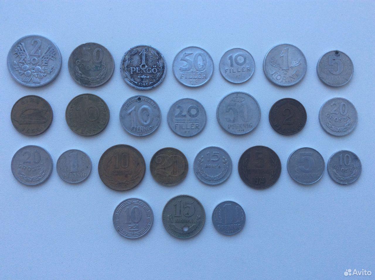 Монеты разных стран  89040796251 купить 1