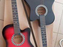 Гитара новая акустическая / аксессуары