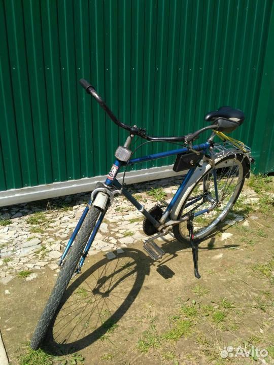 Велосипед дорожный с эллипсной звездочкой