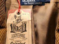 Вельветовый пиджак polo Ralph Laure