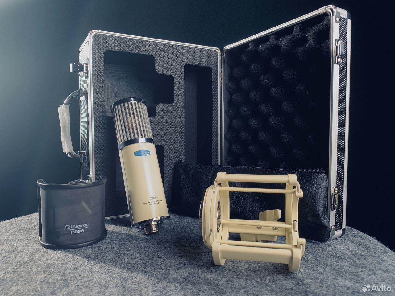 Студийный конденсаторный микрофон Alctron CK6 купить в Краснодаре с  доставкой | Хобби и отдых | Авито