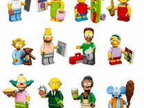 Lego минифигурки Simpson's