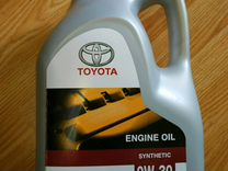 Toyota Engine Oil Synthetic 0W30, 5л