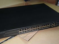 Коммутатор 24 порта POE с питанием D-Link Cisco HP