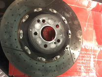 Суппорта AMG 6 поршней тормозные диски brembo 390