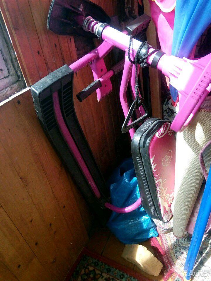 Снегокат розовый для девочки  89824929295 купить 1