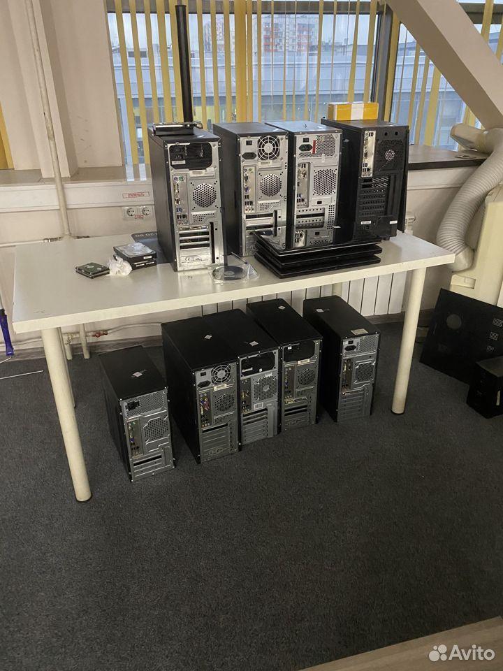 Системный блоки с монитором