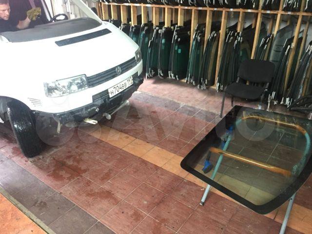 замена лобового стекла транспортер т4
