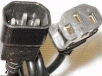 Кабель электрический от Пк - Монитор или Пк - ибп