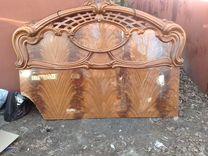 Кровать,спинка декоративная — Мебель и интерьер в Москве