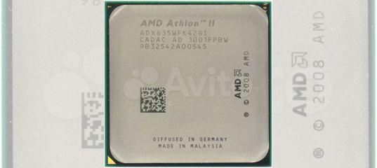AMD Athlon II X4 635 Propus (2900MHz, AM3, L2 2048 купить в Республике Хакасия   Бытовая электроника   Авито