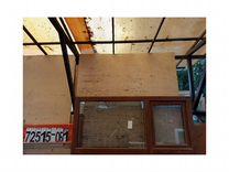 Пластиковые окна бу № 72515-об-1