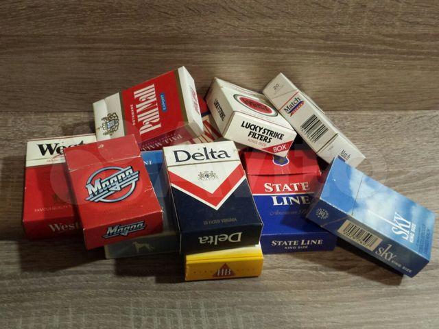 Купить пустые пачки сигарет на все марки сигарет купить